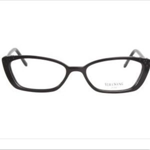 [Vera Wang] Eyeglasses Rectangle Black Pink